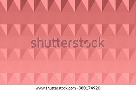 geometric pattern embossed