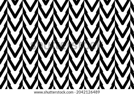 Geometric pattern for multiple usage. Repeating geometric tiles with linear triangles. Vector illustration Сток-фото ©