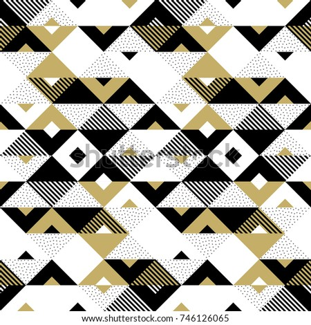 geometric pattern of abstract