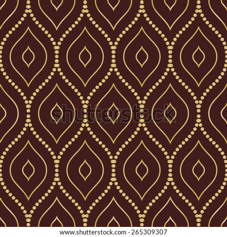 stock-vector-geometric-pattern-seamless-vector-background-abstract-texture-for-wallpapers-brown-and-golden