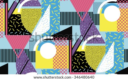 geometric pattern texture with