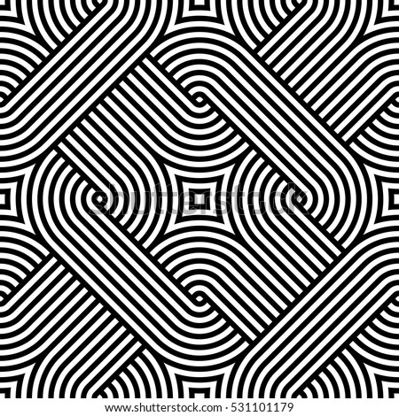 Geometric pattern. Vector seamless pattern.