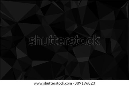 geometric patterns in black