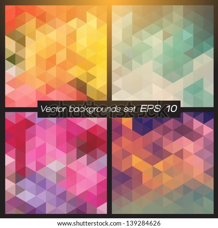 stock-vector-geometric-patterns-set-colorful-abstract-mosaic-backgrounds-vector-illustration-eps