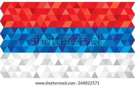 geometric polygonal style
