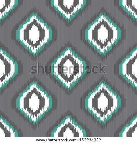 Simple fashion pattern vector with twill background Free