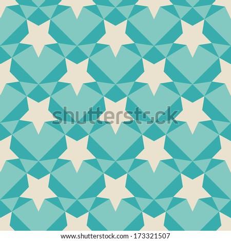 Geometric retro pattern. Square background of geometric shapes. Colorful mosaic square banner. Retro vintage texture. EPS 8.