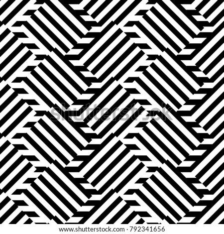 geometric seamless black and
