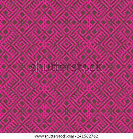 geometric seamless ethnic