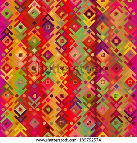 Geometric seamless pattern \