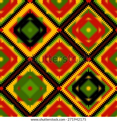 geometric seamless pattern in