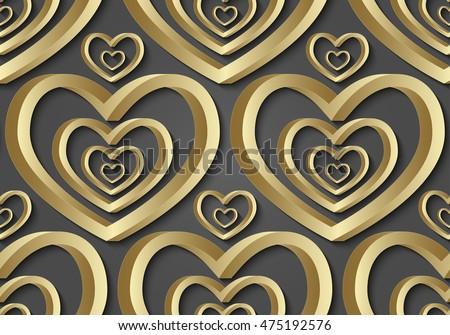 geometric seamless pattern made