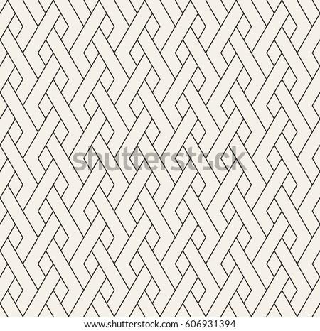 Geometric seamless pattern. Simple regular background. Vector illustration with linear herringbone.