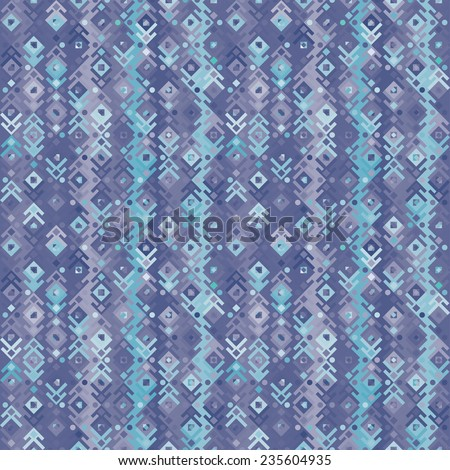 Geometric seamless pattern. Structure colored geometric shapes.