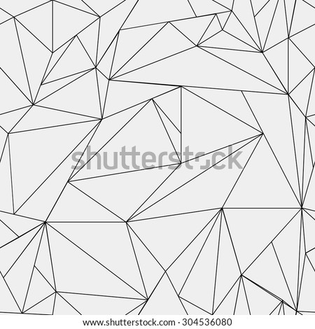 Royalty Free Geometric Simple Black And White 304853015 Stock