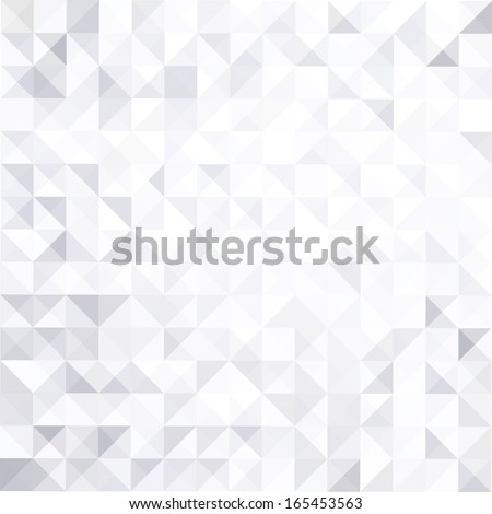 geometric style abstract white