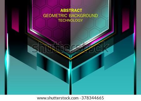 geometric tech elegant