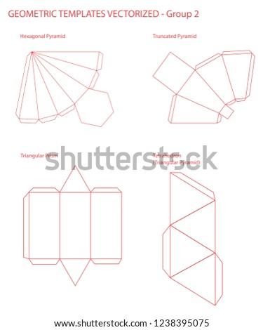 Geometric Templates Vectorized Group 2