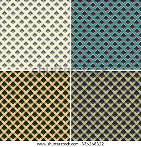 Geometric texture in earth tones