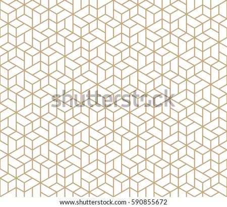 geometric tile grid graphic seamless pattern vector