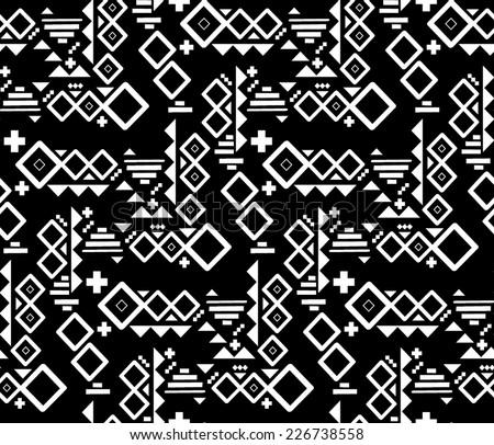 geometric tribal print  ...