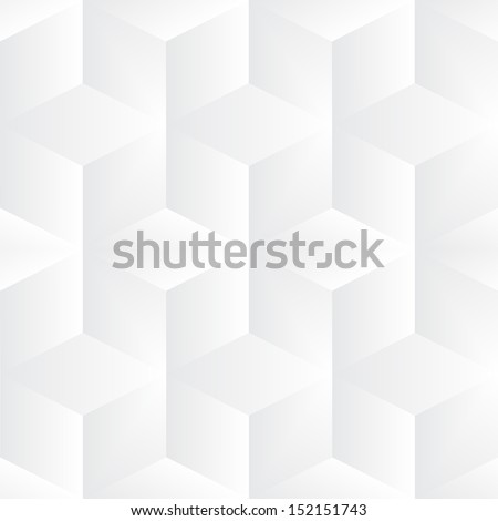 Geometric vector cubes background