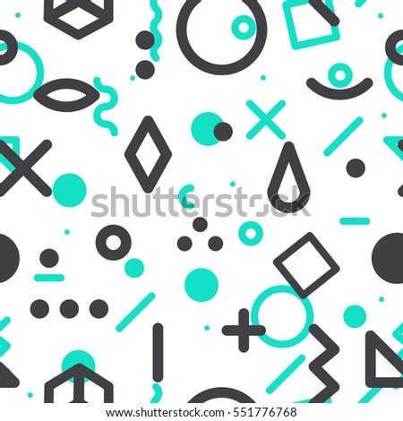 geometric vector pattern form