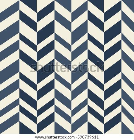 Geometric vector pattern in retro style