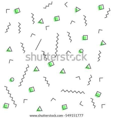 geometric vector pattern with
