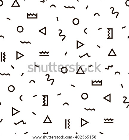 geometric vector pattern with...