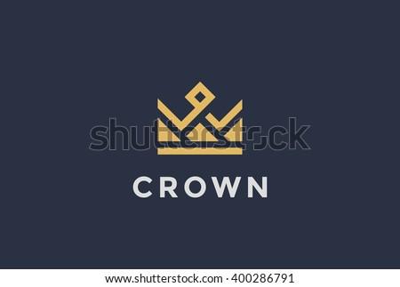 geometric vintage crown