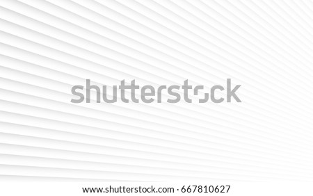 Geometric white background. Panel on the wall in perspective #667810627