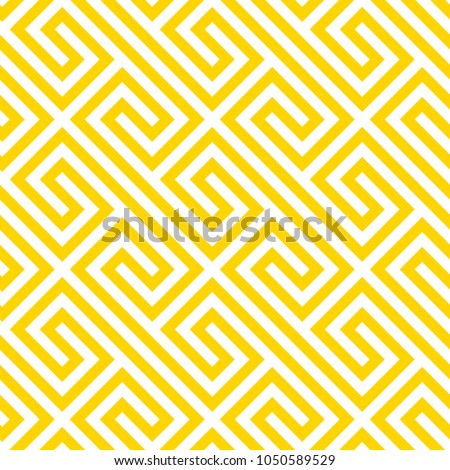 geometric yellow seamless