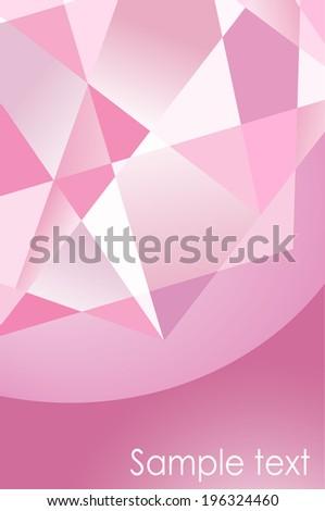 Geometrical Elegant Pink Background