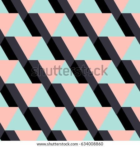 Geometrical pattern. ethnic seamless ornament. Abstract background - colorful lines. Vector illustration.