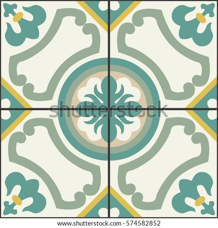 geometrical pattern for floor...
