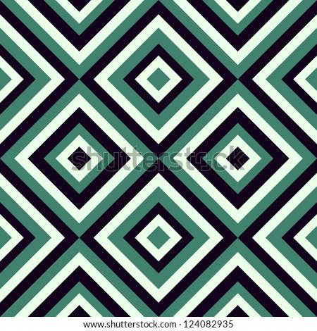 geometrical pattern in retro