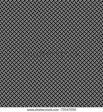 Geometrical seamless pattern with intertwining.