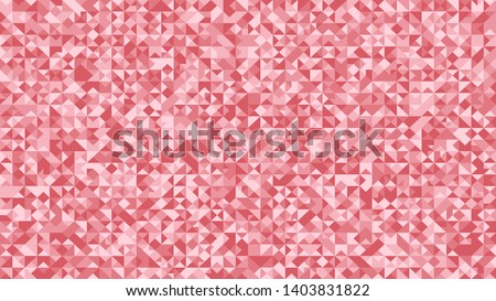 geometrical triangle mosaic