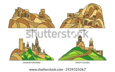 georgia landmarks  travel