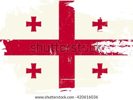 georgia scratched flag an