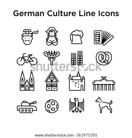 german culture icons  culture