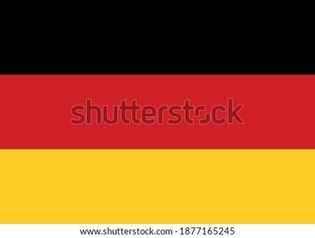 German Flag Vector Design Background ストックフォト ©