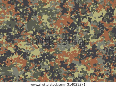 german flecktarn camouflage