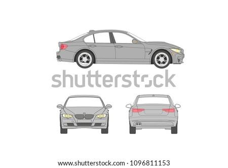 german luxury car fast race