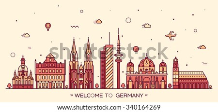 german skyline  detailed