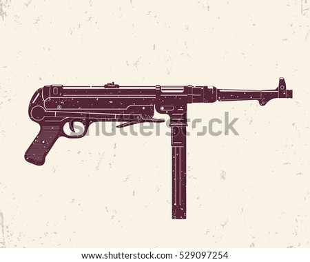 german submachine gun mp 40
