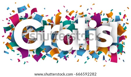 Shutterstock German text Gratis, translate Free, Costless. Eps 10 vector file.