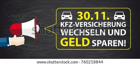 german text kfz versicherung