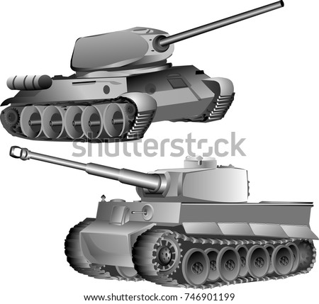 german tiger tank and the